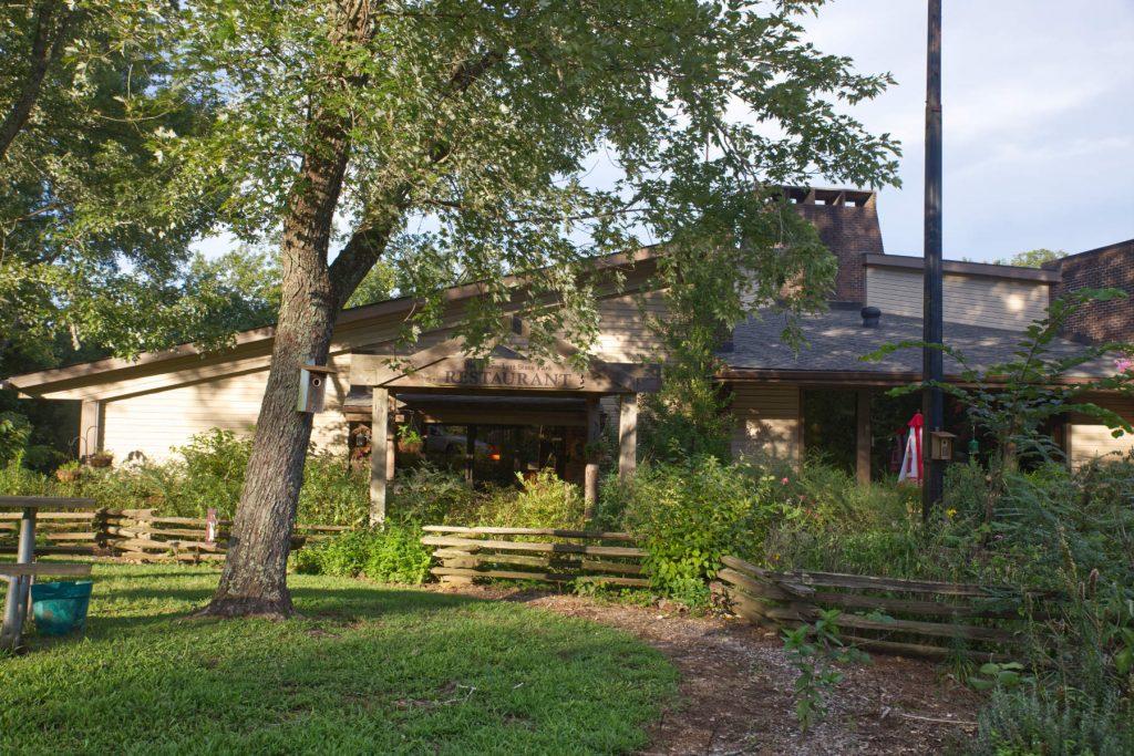 Crockett Mills restaurant at crockett park.