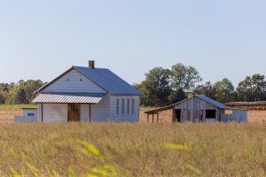 Amish school house.
