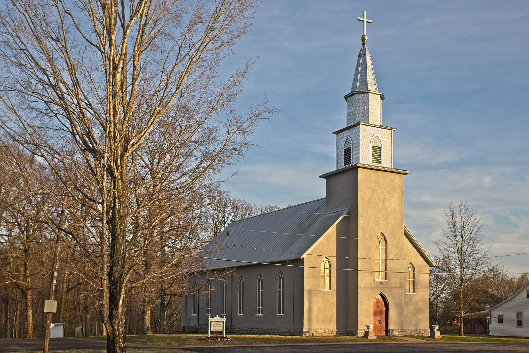 old catholic church in st. joe