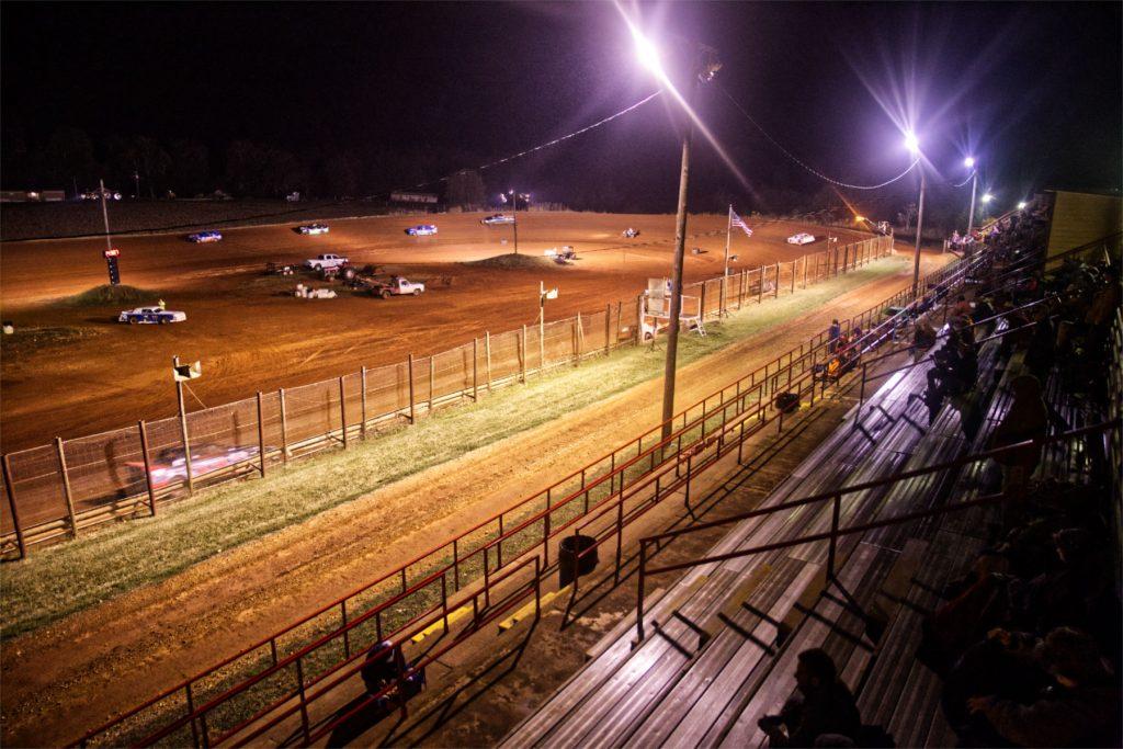 Dirt track race cars.
